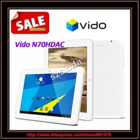 original Vido N70HDAC Quad Core 1GB/16GB Android 4.1  7 inch1280x800 IPS Screen Front camera Tablet PC / Anna
