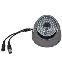 700TVL 2.8MM Wide Range CMOS CCD 54LED Vandalproof CCTV Night Vision Dome Camera