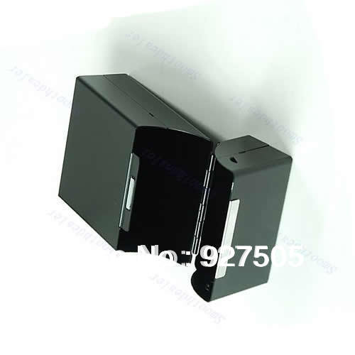B39Free Shipping New Travel Magnetic Aluminum Cigar Cigarette Case Pocket Box 20 PCS Black(China (Mainland))