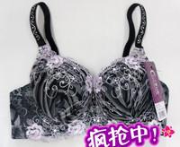 Embroidery push up rhinestones shoulder strap renaissance 1006 luxury bra