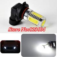 2pcs Lens Buid-In Chip White Cree High Power 7.5W HB3/9005 Car Fog LED Bulb Light