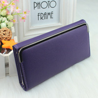 Female coin purse women's long type lockbutton design clutch bag wallet Fashion handbag bag Free shipping