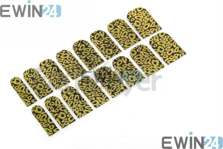 Leopard Print Finger Nail