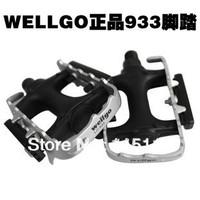 Wellgo933 Aluminum Bicycle Pedal Mountain Bike Pedal,Free Shipping