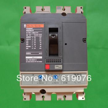 NS- 250N 3P ( 125A -250A ) NS tipo moldado do caso disjuntor ( Schneider MCCB )