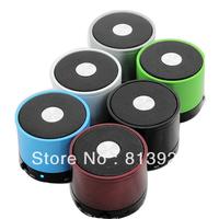 Bluetooth Metal Wireless 3W Mini Speaker HiFi Handsfree Mic Portable Black