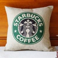 wholesale novelty pillows decorate/   coffee pillow cover/decorative cushion covers free shipping