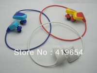 W262 Earphone Headphone Sport MP3 Player With TF Micro SD Card Slot No Memory 5pcs/lot Free Shipping