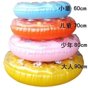 Enfant bague de nager enfant femme homme piscine d'eau de la vie anneau bouée anneau de piscine gonflable bague en cristal double couche 7 - 10(China (Mainland))