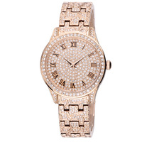 Fashion women's watch luxury full rhinestone watch watchband fashion watches