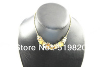 Popular crystal necklace fashion jewelry for woman
