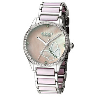 Ikey eyki ufo rhinestone series of ceramic quartz watch crystal full rhinestone watch 84