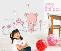 Стикеры для стен Baby Kid Room Nursery Decoal Bed Sticker Butterfly Glow in the Dark Wall Sticker, Don't need Double size Sticker