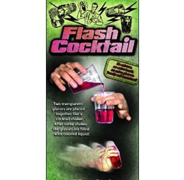 Flash Cocktail ,cool magic tricks,Christmas wholesale magic store(China (Mainland))