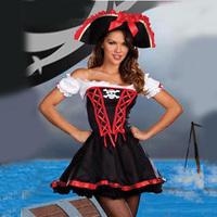 Halloween clothes pirate queen demon uniforms ds costume