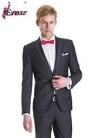M019 Hand Made 100% Quality Modern Single Custom Men Suit Groom Business Suit Men Suit