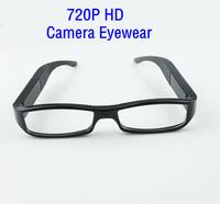 Free Shipping New 720P HD Camera Glasses Fashion Eyewear DVR Camcorder Video Recorder 5m pixels