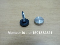 "300PCS 1"" Stainless Steel Screw Cover For Display Mirror Advertising Nail Acrylic Nail"