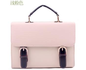 New Arrival, Fashion Business Light Pink Girls Women's Ladies Casual Pretty Brief Handbag Bags