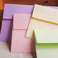 19 bag mr . paper rainbow color colorful envelope invitation card storage 5