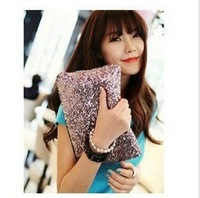 Hot Products 2013 new bags women wallet Fashion Style Sparkle Spangle Sequins clutch purse evening bags and lady Handbag Z039