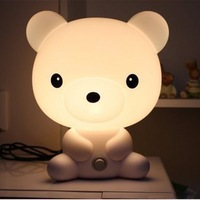 Cartoon fairy rabbit child bedroom bedside lamp housing baby lamp