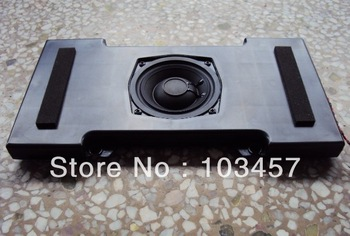 Free shippping, 4 inch neodymium slim subwoofer speakers, 330*173*26mm, 16 ohms, 12W