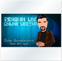 2013 John Guastaferro Penguin Live Online Lecture,magic teaching video,free shipping