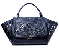 2013 aimali genuine leather PU vintage carved cutout one shoulder handbag cross-body bag dumplings women's handbag