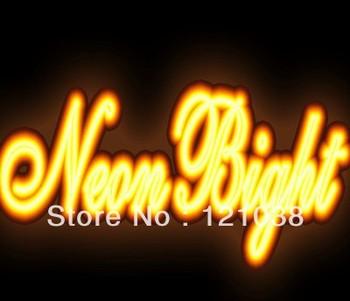 Newest LED Neon sign light flex rope the for PVC LED light for Night bar, Disco AC220V -240V