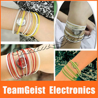 20pcs/lot Elegance Lady's Bracelet Wrist Watch, Colorful Steel Brand Women Quartz watch Fashion Brand Female Watch Free Shipping