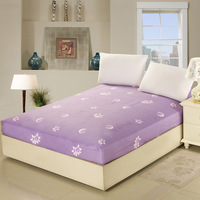 Textile 100% slanting stripe cotton bed sheets fitted 100% cotton single bed double 100% cotton coverlet bed sheets