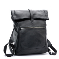 FEDEX free shipping, Cattle 2012 fashion male women's general backpack first layer of cowhide backpack 3058