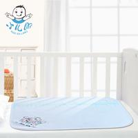 Bamboo fibre changing mat 100% waterproof cotton baby bed sheets ultralarge pad baby changing mat