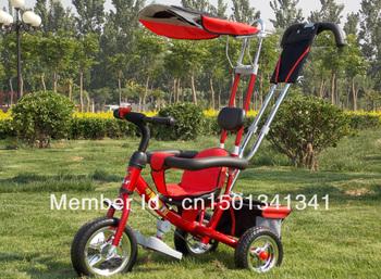 Quality baby tricycle baby bike stroller kids folding stroller infant bike walker