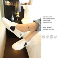 2013vivi magazine canvas shoes casual flat shoes women's shoes small single shoes