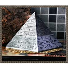 Egyptian magic vintage pyramid pyramid ashtray decoration(China (Mainland))