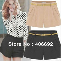 NEW excellent quality, elegant fashion slim ladies short women's short pants FREE SIZE(comes in 5 different colors)