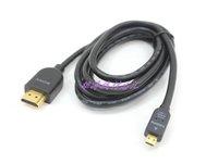 Original Genuine V1.4 2m DLC-HEU20A HDMI-micro cable 3D image HIGH SPEED HDMI