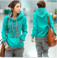 New arrival high quality fall and winter women pullover hoodie Fashionable street wear suit Hollywood style fashion SU1193