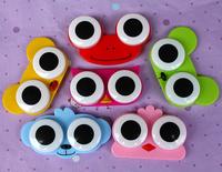 My012 animal headform contact lenses box double box invisible care case