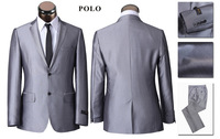 2013  brand two-button  suits men, wedding&prom suit  slim fit  size S-4xl