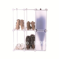 On Sale DIY wardrobe armoire jewelry armoire garderobe CHEST Cabinet Shoe ark shoe cabinet Shoebox storage Shoe Rack 1set/lots