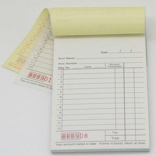 Carbonless Duplicate Paper Custom a5 Duplicate Carbonless