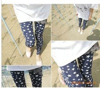 2013 new fashion leggings pantyhose pentagram star Four Seasons wild 9 pants pantyhose wholesale free shipping