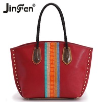 2013 fashion color block shoulder bag handbag women's big bags