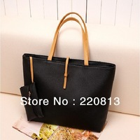 Free Shipping New Style Promotion Cheap Fashion Quality PU Leather Ladies Handbags100%