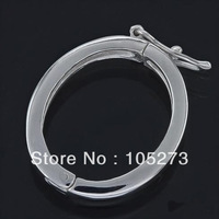New Arriver Large 925 Sterling Silver Shortener Pearl Enhancer Click Clasp 18.5x33x3mm High Quality Wholesale New Free Shipping