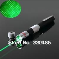 Free shipping 200mw green light laser pointer pens, green laser command pen outdorr singna l laser pen