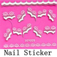 [DGTL-006]Free Shipping+Wholesale 3D Christmas Sticker Nail Art Decals Decoration,10sets/lot